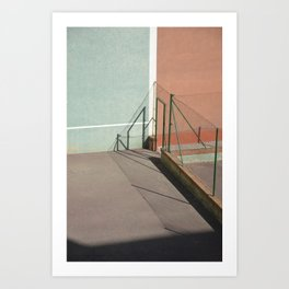 Divided Shadows Art Print