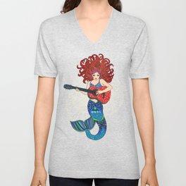 Musical Mermaid Unisex V-Neck
