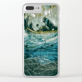 The Sound That Carries Across the Ocean Clear iPhone Case