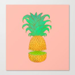 Tropical Explorer Canvas Print