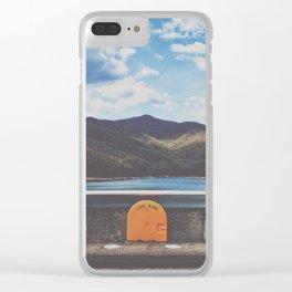 Life Ring On Fontana Damn • Appalachian Trail Clear iPhone Case