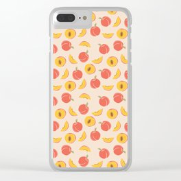 Millions Of Peaches Clear iPhone Case