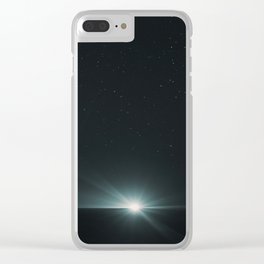 Fishermen's Light Clear iPhone Case