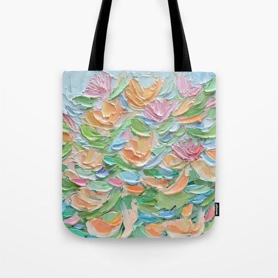Nymphaea Aurora Tote Bag