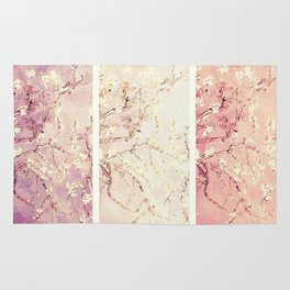 Vincent Van Gogh : Almond Blossoms Panel ART Rug