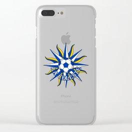 Uruguay La Celeste (The Sky Blue) ~Group A~ Clear iPhone Case