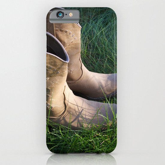 Country Boots 2 iPhone & iPod Case