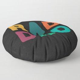 Rad Dad Floor Pillow