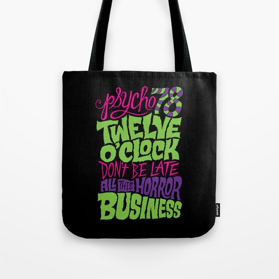 Horror Business Tote Bag