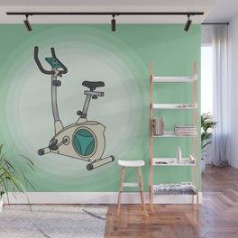 Exercise bike Wall Mural