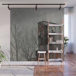 Rusted Wall Mural