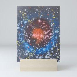 Flame Galaxy Mini Art Print