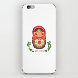 Matryoshka Doll iPhone Skin