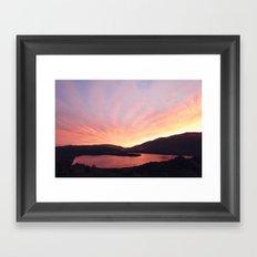 Lake Rotoiti Framed Art Print