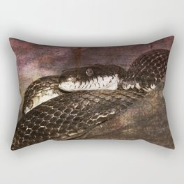 Snakestress At Large Rectangular Pillow