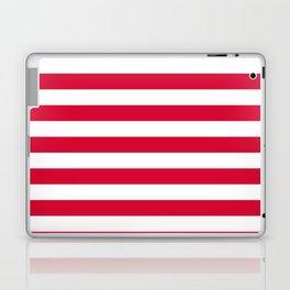 Denmark flag stripes Laptop & iPad Skin