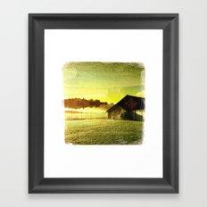 Heaven and Earth  Framed Art Print