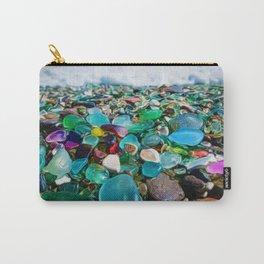 Kauai's Glass Beach, Hawaiian Portrait Carry-All Pouch