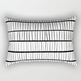 line pattern Rectangular Pillow