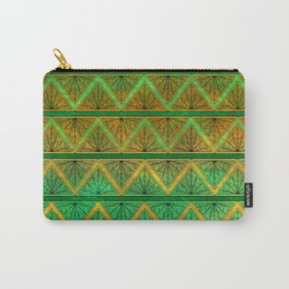 Green Jubilation Carry-All Pouch