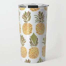 Vintage Pineapple Show Travel Mug