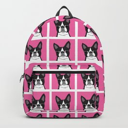 Boston Terrier Lilly Backpack