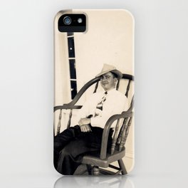 Walking the Porch iPhone Case