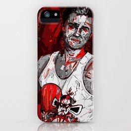 Jack Burton Tribute (Red Version) iPhone Case
