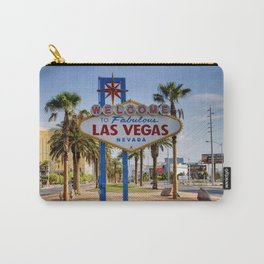 Welcome To Vegas Sign Series I Carry-All Pouch