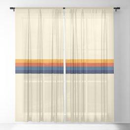 Summer of Love Sheer Curtain