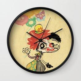 The Clown / Balloons / Facade Wall Clock