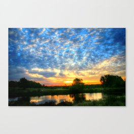 November East Texas Sunrise Canvas Print