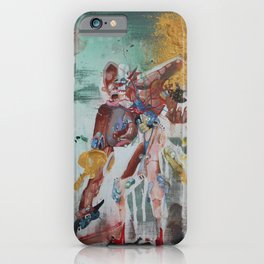 Portrait of Jeffery and the Decline of Hip/Hop. iPhone Case