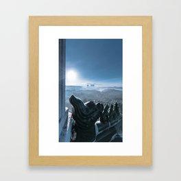 Cold Steel Guardians Framed Art Print