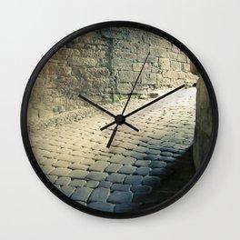 Heidelberger Schlöss: Heidelberg, Germany.  Wall Clock