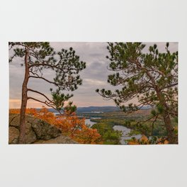 Eagle cliff pines Rug