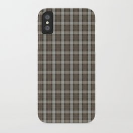 Fraser Clan Tartan iPhone Case