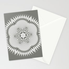 flower of life, alien crop formation, sacred geometry Stationery Cards