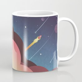Out there  Coffee Mug
