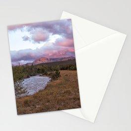 Early Morning at Many Glacier Stationery Cards