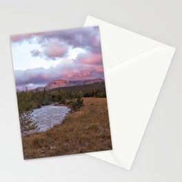 Early Morning at Many Glacier Stationery Cards