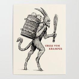 Gruss vom Krampus Poster