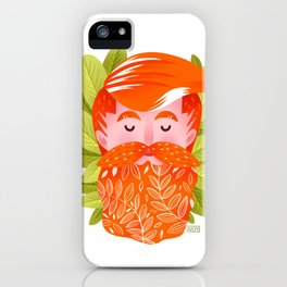Floral Grooming iPhone Case