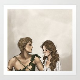 Peter and Wendy Art Print