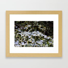 Neve em Londres - 4 Framed Art Print