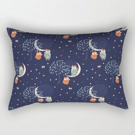 Woodland eclipse Rectangular Pillow