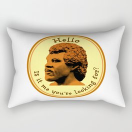 Hello, Is it me you're looking for? Lionel Rectangular Pillow