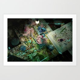 Making of Paradises Art Print