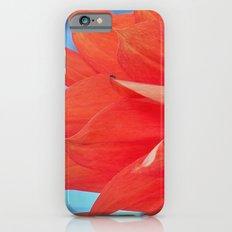 Orange Dahlia Slim Case iPhone 6s