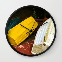 Just Boats Wall Clock